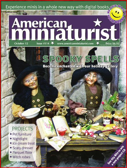 American Miniaturist Magazine - October 2012