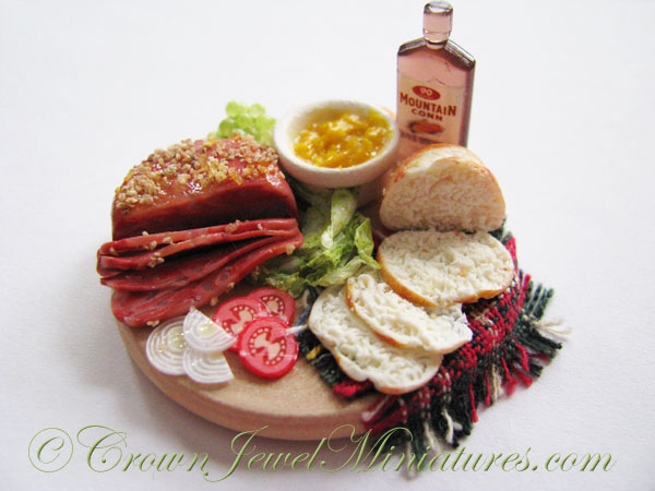 Crown Jewel Miniatures Corned Beef Sandwiches