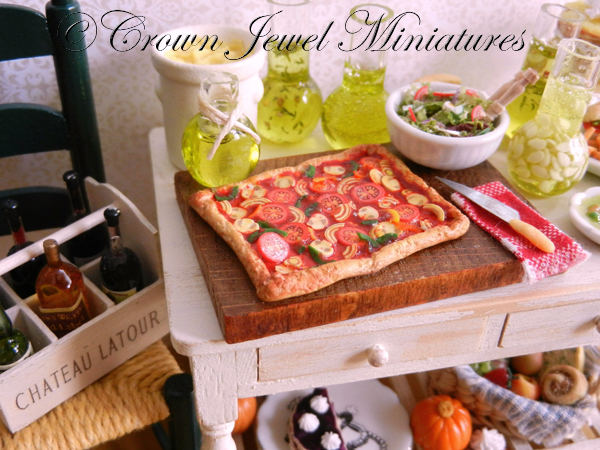 Crown Jewel Miniatures Focaccia