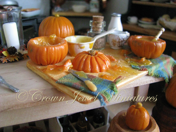 Crown Jewel Miniatures Pumpkin Soup