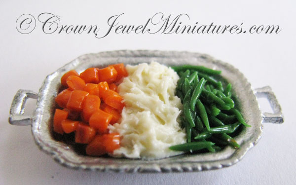 Crown Jewel Miniatures Vegetables