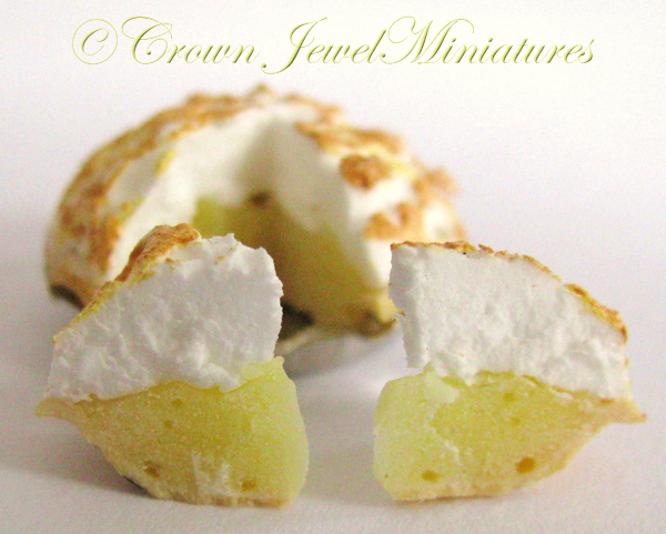 Crown Jewel Miniatures Lemon Meringue