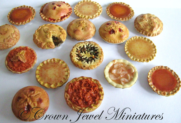 Crown Jewel Miniatures Pies