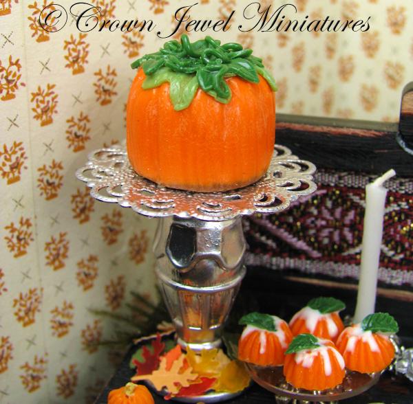 Pumpkin Fondant Cake