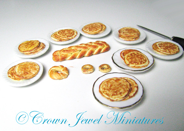 Crown Jewel Miniatures Pancake Blanks