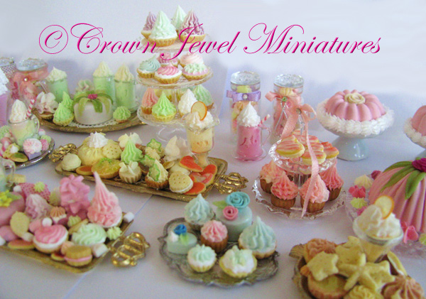 Marie Antoinette Dessert Collection