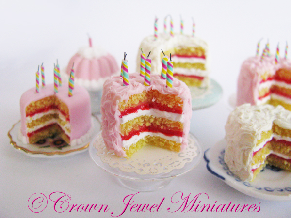 CJM Birthday Cake & Candles