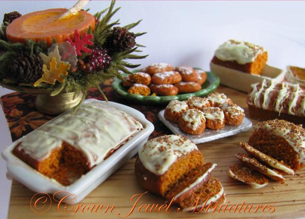 Pumpkin Breads Cake