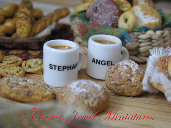 Stephan & Angelique mugs