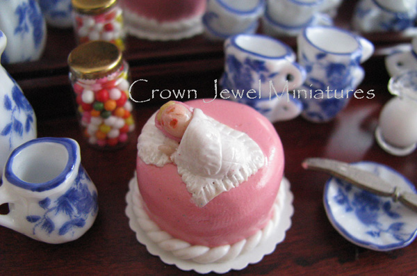 Welcome Baby Girl Cake