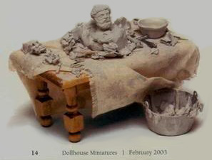 Socrates In Sculpture - Dollhouse Miniatures 1993